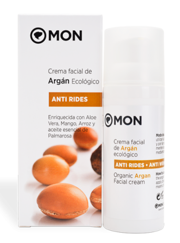 Crema Facial ARGAN Antirides MON DECONATUR 50ML