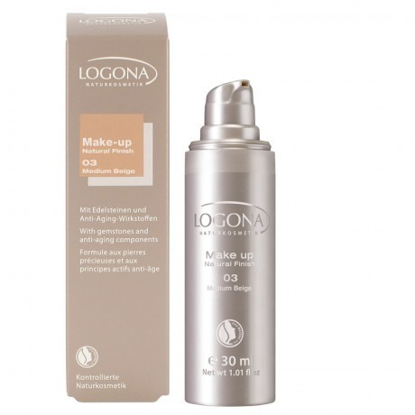 Maquillaje NATURAL FINISH 03 Medium Beige LOGONA 30ML