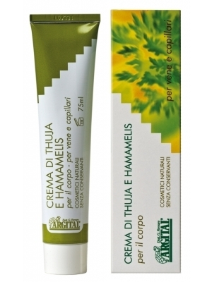 Crema HEMORROIDES TUJA Y HAMAMELIS ARGITAL 75ML