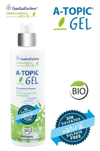 A-Topic Natur Gel y Champú ESENTIAL´ARÔMS 400ML