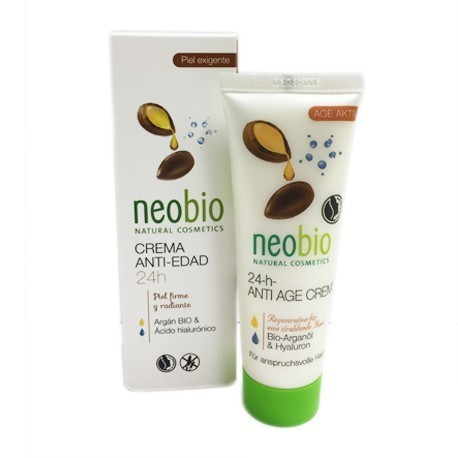 Crema Facial Antiedad 24h NEOBIO 50ML