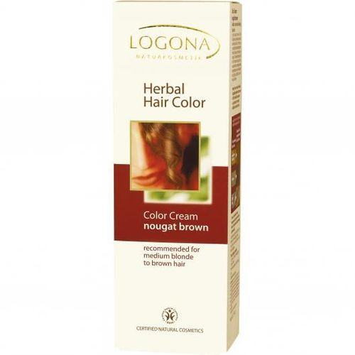 Crema Color Tinte CASTAÑO NOGAL LOGONA 150ML