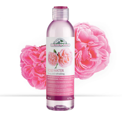 Agua Rosas Sin Alcohol DAMASCENA CORPORE SANO 200ML