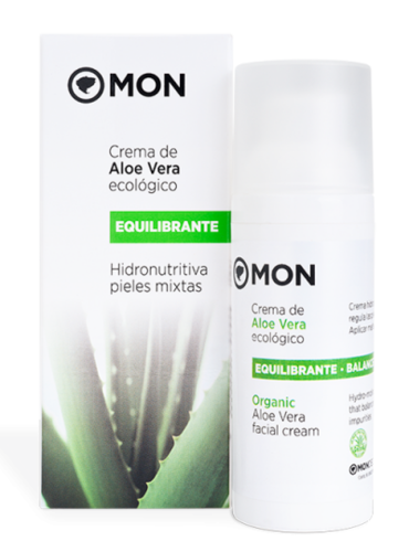 Crema Facial Equilibrante ALOE MON DECONATUR 50ML