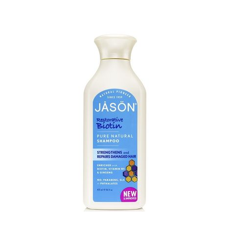 Champú BIOTINA Natural JASON 500ML