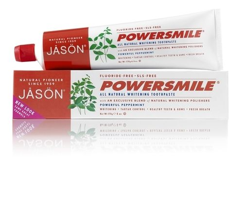 Dentífrico Blanqueador POWER SMILE JASON 170GR