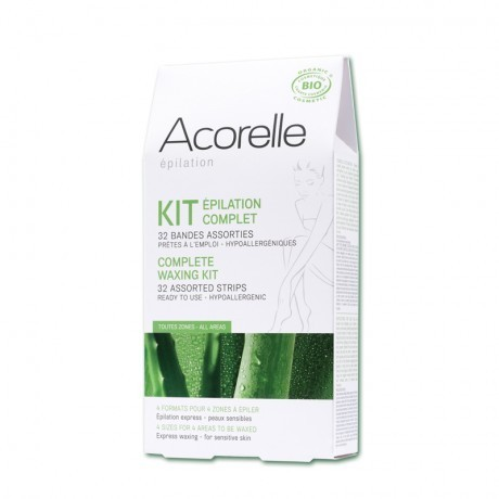 KIT BANDAS DEPILATORIAS ACORELLE