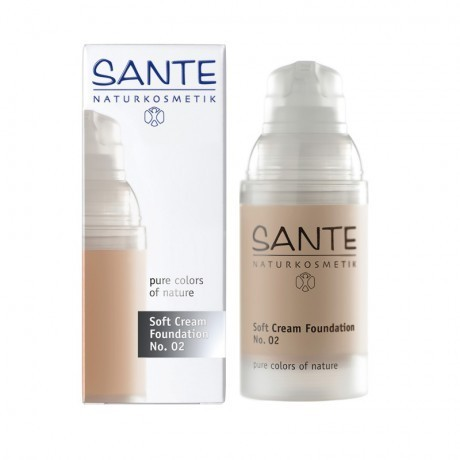 Maquillaje SOFT CREAM FOUNDATION LIGHT BEIGE 02 SANTE 30ML