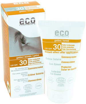 Crema Solar Corporal Con Color FP30 ECO COSMETICS 75ML