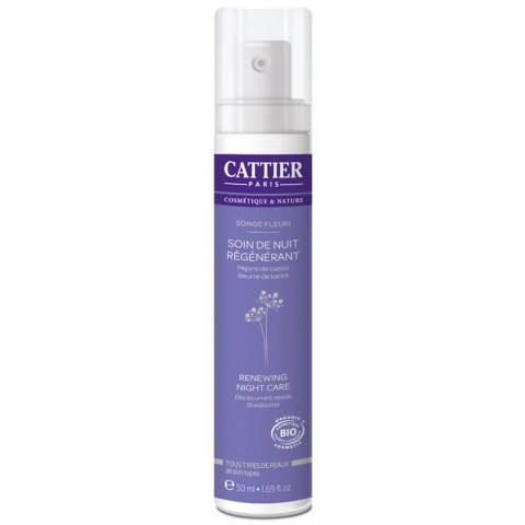 Crema Facial Regeneradora Noche CATTIER 50ML
