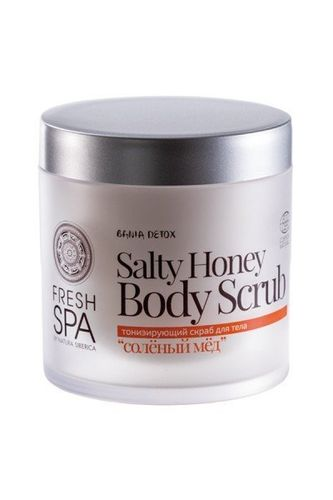 BANIA FRESH SPA Exfoliante Corporal Salty Honey NATURA SIBÉRICA 400ml