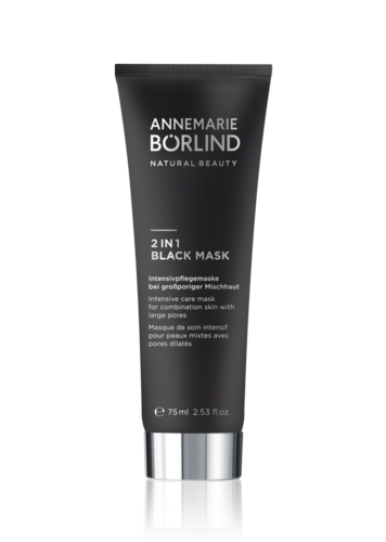 2 en 1 Black Mask ANNEMARIE BORLIND 75ml