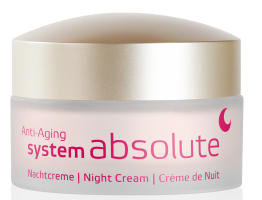 System Absolute Crema de Noche Rich Nutritiva ANNEMARIE BORLIND 50ml