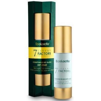 7 LUXURY Contorno de Ojos Antiedad Airless  ECOLACTIS 30ml