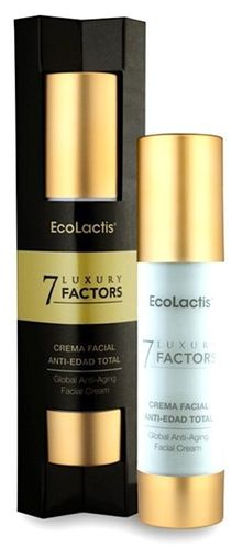 7 LUXURY FACTOR Crema facial antiedad ECOLACTIS 50ml