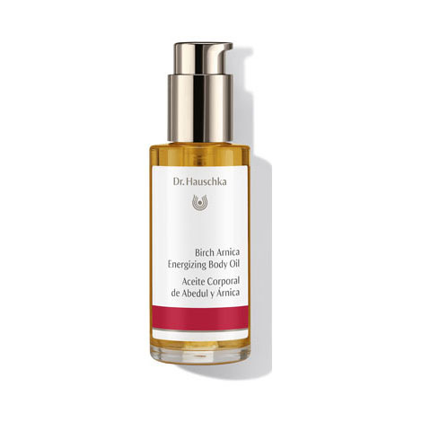 Aceite Corporal  Fitness de Abedul y Árnica DR HAUSCHKA 75ml