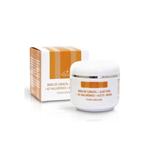 Crema Facial Baba de Caracol con color PRISMA NATURAL 50ml